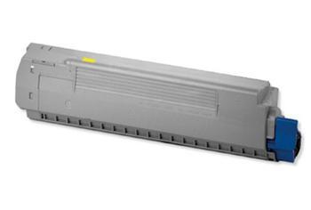 44059105 kompatibilní tonerová kazeta, barva náplně žlutá, 8000 stran
