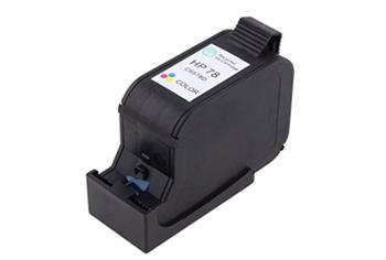 Printwell DESKJET 1220C kompatibilní kazeta pro HP - azurová/purpurová/žlutá, 970 stran