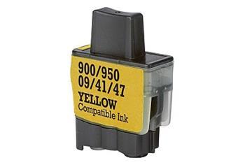 Printwell DCP 110C kompatibilní kazeta pro BROTHER - žlutá, 12 ml