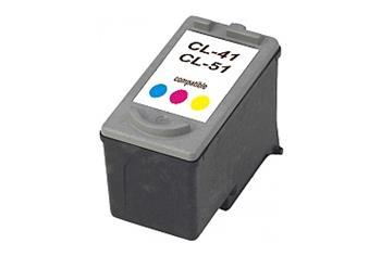 Printwell PIXMA IP2600 kompatibilní kazeta pro CANON - azurová/purpurová/žlutá, 320 stran