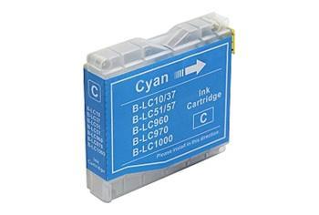 Printwell DCP 540CN kompatibilní kazeta pro BROTHER - azurová, 12 ml