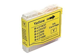 Printwell DCP 770CW kompatibilní kazeta pro BROTHER - žlutá, 12 ml