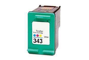 Printwell PHOTOSMART C4180 kompatibilní kazeta pro HP - azurová/purpurová/žlutá, 445 stran