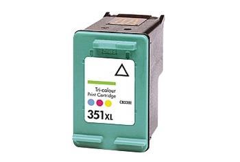 Printwell PHOTOSMART C4580 kompatibilní kazeta pro HP - azurová/purpurová/žlutá, 580 stran
