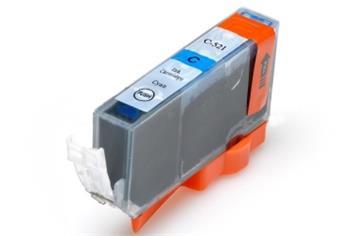 Printwell PIXMA IP4700 kompatibilní kazeta pro CANON - azurová