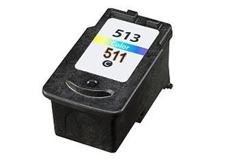 Printwell IP2700 kompatibilní kazeta pro CANON - azurová/purpurová/žlutá, 360 stran