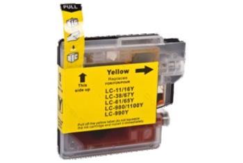 Printwell DCP 385C kompatibilní kazeta pro BROTHER - žlutá, 12 ml