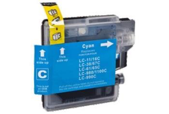 Printwell DCP 395CN kompatibilní kazeta pro BROTHER - azurová, 12 ml