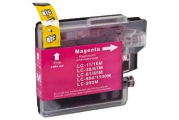 Printwell DCP 395CN kompatibilní kazeta pro BROTHER - purpurová, 12 ml