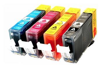 Printwell PIXMA MP980 kompatibilní kazeta pro CANON - azurová/purpurová/žlutá/černá