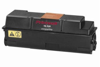 Printwell FS 3900DN kompatibilní kazeta pro KYOCERA-MITA - černá, 15000 stran
