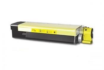 Printwell 43865721 (OKI C5850) kompatibilní kazeta, žlutá, 6000 stran