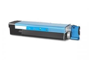 Printwell 43865723 (OKI C5850) kompatibilní kazeta, azurová, 6000 stran