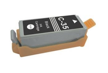 Printwell IP 100 kompatibilní kazeta pro CANON - černá, 7,5 ml