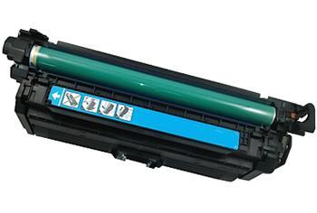 Printwell COLOR LASERJET CP3525DN kazeta PATENT OK pro HP - azurová, 15000 stran