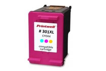 Printwell DESKJET 2054A kompatibilní kazeta pro HP - azurová/purpurová/žlutá, 185 stran