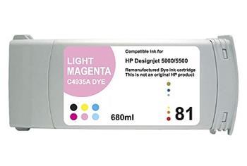 Printwell DESIGNJET 5500 kompatibilní kazeta pro HP - světle purpurová, 680 ml