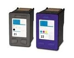 Printwell DESKJET F2180 kompatibilní kazeta pro HP - azurová/purpurová/žlutá, 17 ml