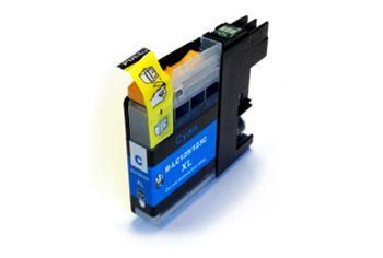 Printwell DCP-J132W kompatibilní kazeta pro BROTHER - azurová, 12 ml