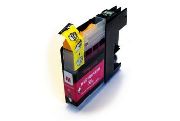 Printwell DCP-J132W kompatibilní kazeta pro BROTHER - purpurová, 12 ml