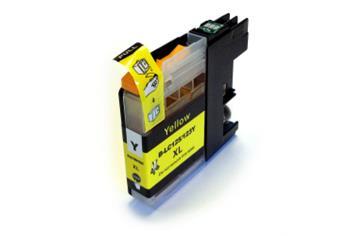 Printwell DCP-J132W kompatibilní kazeta pro BROTHER - žlutá, 12 ml