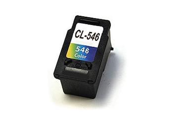 546 (CL-546) 8289B004 kompatibilní inkoustová kazeta, barva náplně tříbarevná, 345 stran