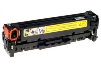 410X CF412X tonerová kazeta SUPERB, barva náplně žlutá, 5000 stran