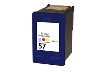 57 C6657AE#301 kompatibilní inkoustová kazeta, barva náplně tříbarevná, 500 stran