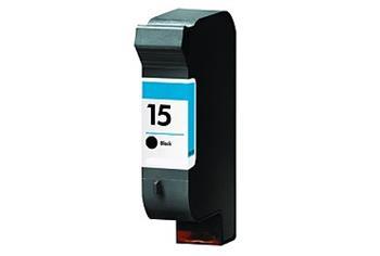 Printwell C6615 (No.15) kompatibilní kazeta, černá, 920 stran